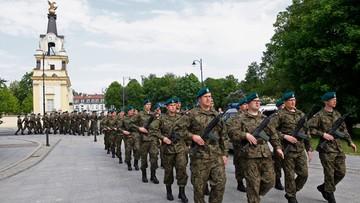 21-05-2017 11:19 Pierwsi żołnierze Wojsk Obrony Terytorialnej złożyli przysięgę