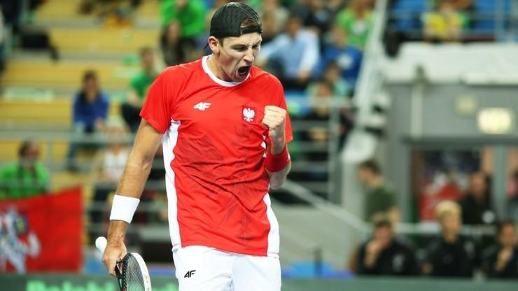 Puchar Davisa: Kubot i Kowalczyk wygrali w deblu, Słowacy bliżej utrzymania