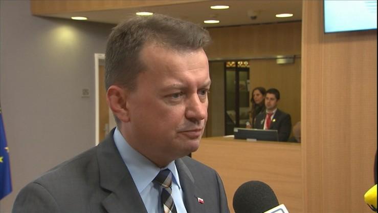 Błaszczak: mam nadzieję, że prezydent spełni swoje zobowiązanie z kampanii wyborczej