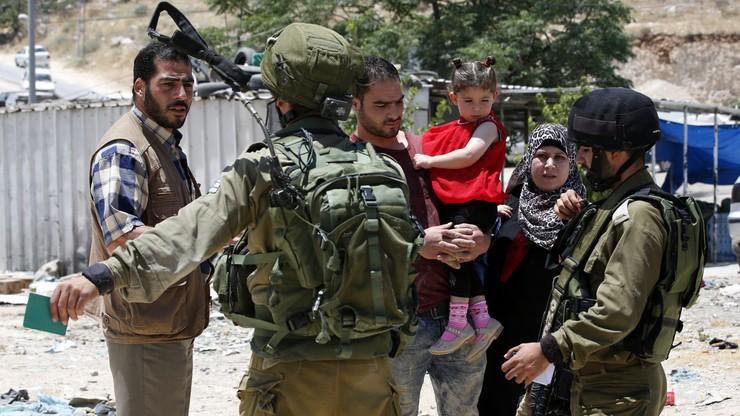 Izrael: zakaz wjazdu dla wszystkich Palestyńczyków