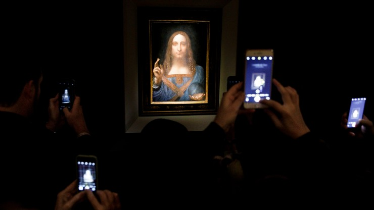 Rekordowa cena za obraz Leonarda da Vinci. Licytacja trwała 19 minut