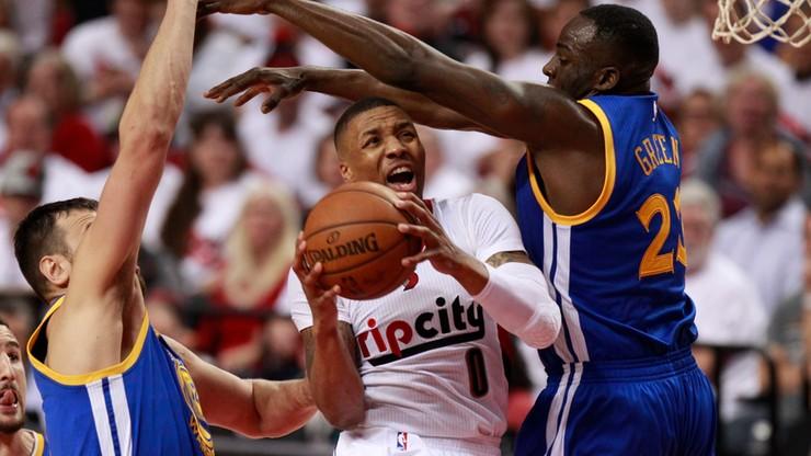 NBA: 59 punktów Lillarda klubowym rekordem, Blazers blisko play off