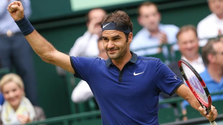 Turniej ATP w Halle: Federer w półfinale