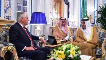 12-07-2017 21:35 Arabia Saudyjska: bez przełomu ws. Kataru podczas wizyty Tillersona