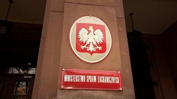 18-04-2017 10:44 MSZ: Polska przyjmuje do wiadomości wyniki referendum w Turcji