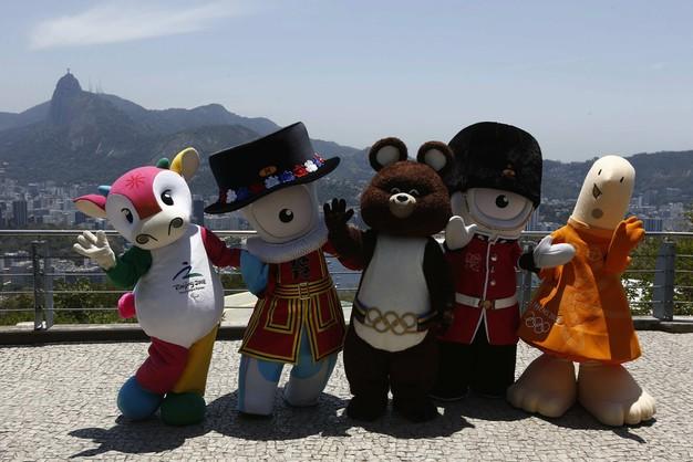 Oto maskotki igrzysk olimpijskich w Rio