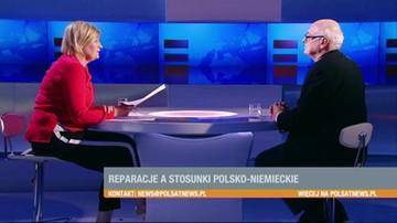 Krasnodębski: chcemy umacniać pojednanie polsko-niemieckie