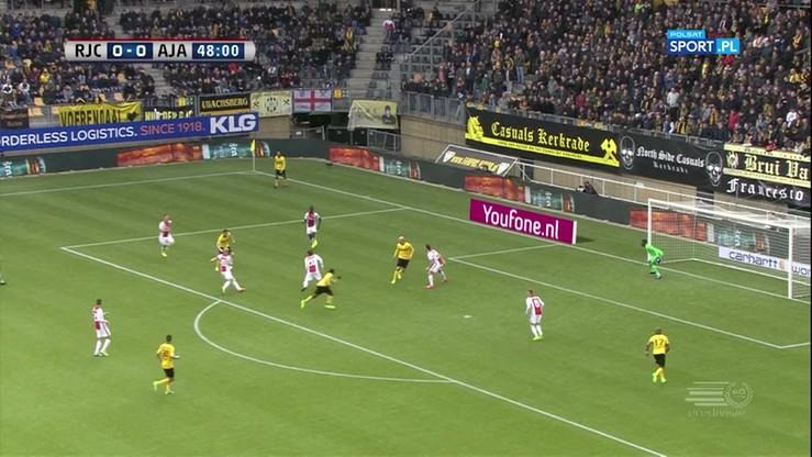 Roda Kerkrade - Ajax Amsterdam 0:2. Skrót meczu