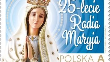 26-11-2016 17:01 Poczta Polska sprzedaje znaczek z okazji 25-lecia Radia Maryja
