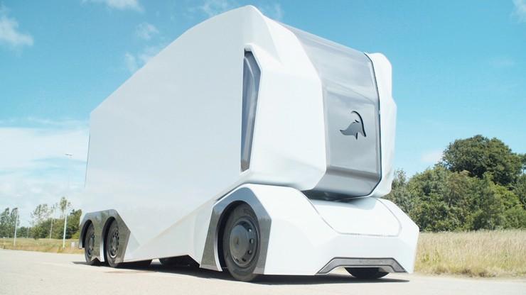 Towar do sklepu Lidla w Szwecji dostarczać będzie ciężarówka bez kierowcy. Już w przyszłym roku