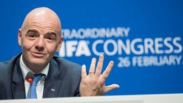 26-02-2016 23:04 Nowy prezydent FIFA: chcę, żeby w każdym kraju był widoczny rozwój piłki nożnej