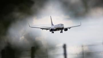 05-01-2017 18:25 Uszkodzony Boeing na lotnisku w Rzeszowie