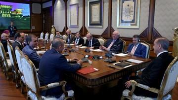 05-06-2017 16:17 Prezydent Turcji spotkał się z szefem dyplomacji Niemiec mimo sporu o Incirlik