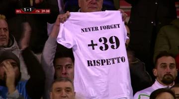 2015-11-13 Belgowie i Włosi uczcili pamięć ofiar tragedii na Heysel (WIDEO)