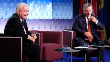 """07-09-2016 06:01 Orban i Kaczyński jednym głosem o przyszłości Europy. """"Jedyną alternatywą są zmiany"""""""