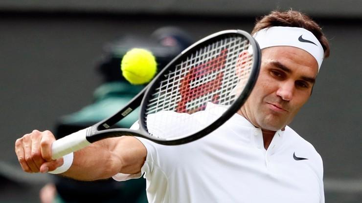 Wimbledon: Federer po raz 50. w wielkoszlemowym ćwierćfinale
