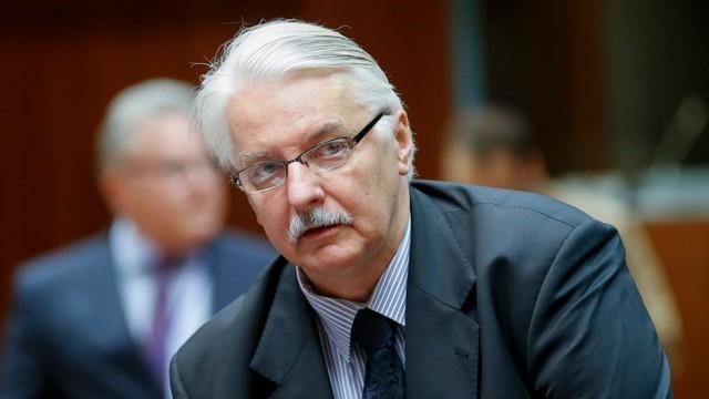 Waszczykowski: cieszymy się, że KE kontynuuje dialog z Polską