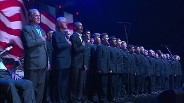 Pięciu byłych prezydentów USA na koncercie charytatywnym. Trump nie wziął udziału