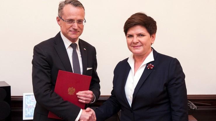 Magierowski powołany na stanowisko wiceministra MSZ