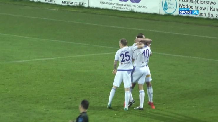Wigry Suwałki - Podbeskidzie 3:0. Skrót meczu