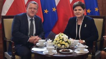 18-04-2016 11:25 Spotkanie premierów Polski i Danii w Warszawie