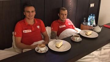 13-11-2016 21:10 Kadrowicze odpoczywają przed meczem ze Słowenią. Grzecznie