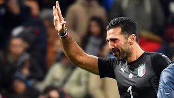 2017-11-13 Buffon zakończył karierę reprezentacyjną ze łzami w oczach. Przepraszam...