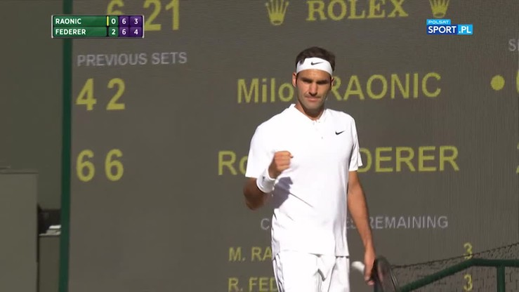 Federer znowu zachwycił! Cudowne zagranie w tie-breaku