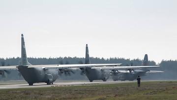 29-10-2015 20:33 Zrzuty do celu i lądowanie precyzyjne. W Powidzu konkurowały Herculesy