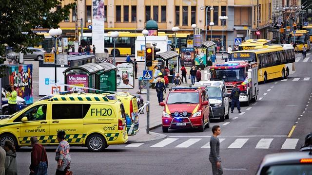 Finlandia: atak nożownika w Turku, dwie osoby nie żyją