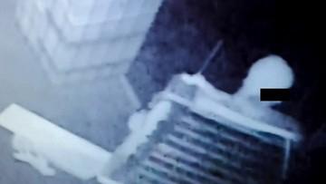 23-03-2016 14:49 Łup przygniótł złodzieja. Zarejestrowała to kamera monitoringu