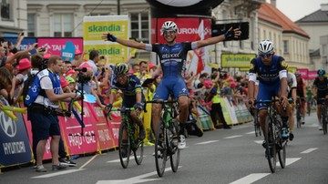 2016-07-12 Tour de Pologne: Martinelli wygrał w Warszawie