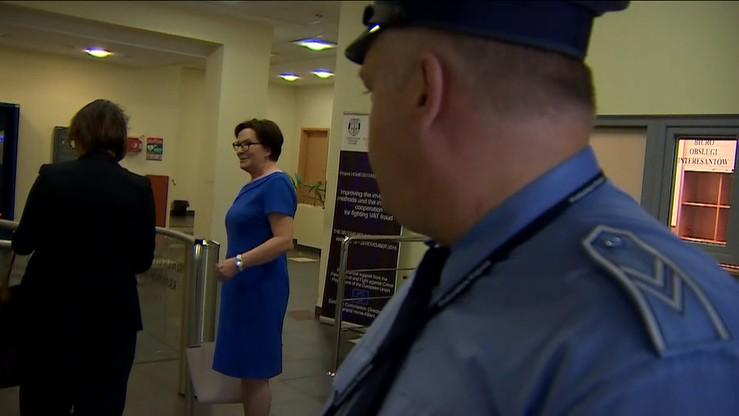 Ewa Kopacz stawiła się w Prokuraturze Krajowej