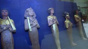 Egipt pokazał złoto Tutanchamona