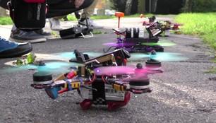 Wyścigi dronów na Śląsku. Odlotowy sport ma w Polsce coraz więcej fanów