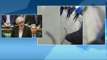 Premier May: Polak ranny w zamachu w Londynie