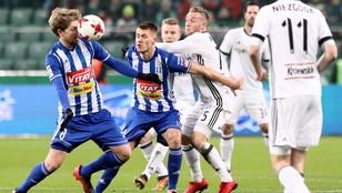 Koniec piłkarskiej jesieni w Ekstraklasie. Legia Warszawa na fotelu lidera