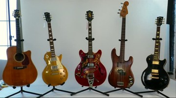 Gitary sław idą pod młotek. Mogą kosztować fortunę