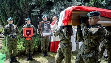 """16-07-2017 15:25 """"Był nieugiętym żołnierzem i dowódcą"""". We Włodawie pochowano Leona Taraszkiewicza ps. """"Jastrząb"""""""