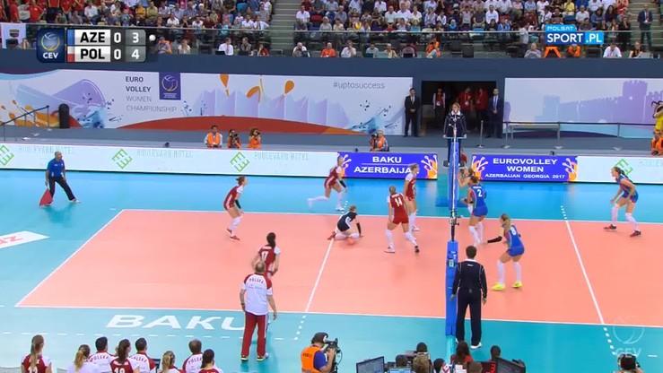 Polska - Azerbejdżan 0:3. Skrót meczu