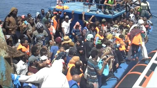 5 tysięcy migrantów uratowanych na Morzu Śródziemnym