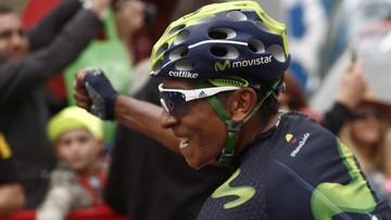 29-08-2016 19:07 Kolumbijski kolarz odzyskał koszulkę lidera Vuelta a Espana