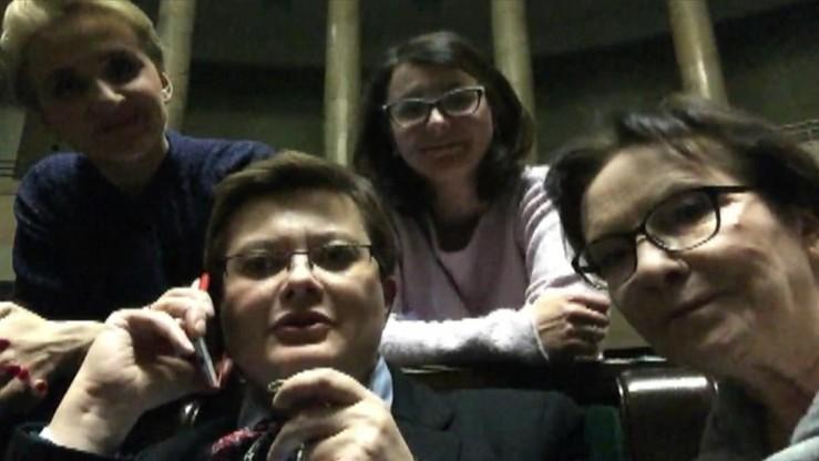 """""""Straż Marszałkowska poinformowała nas, że przebywamy na sali sejmowej nielegalnie"""""""