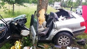 Zginęli na miejscu. Dwa podobne wypadki 23-letnich kierowców