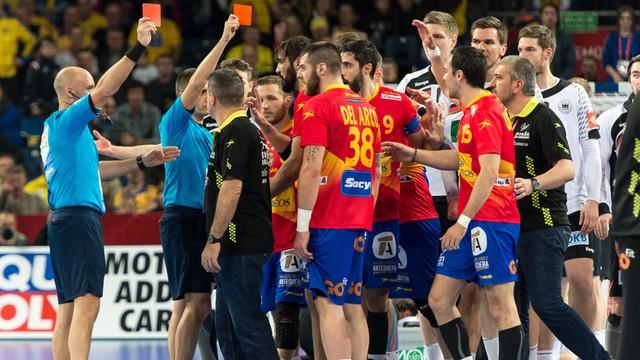 ME piłkarzy ręcznych – Hiszpania - Niemcy 32:29
