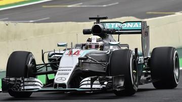 2015-11-13 GP Brazylii: Oba treningi dla kierowców Mercedesa