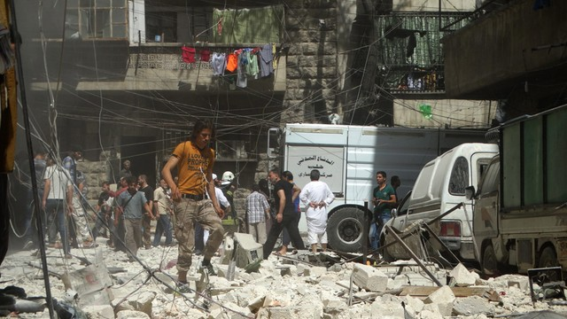 Syria: Przerwa humanitarna w Aleppo