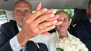 28-07-2017 19:04 Bezdomni wzięli ślub, o jakim nawet nie ośmielili się marzyć. Pomogli ludzie dobrego serca