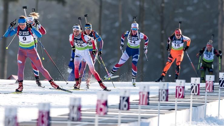 ME w biathlonie: Rosja zdeklasowała rywali. Polska trzynasta