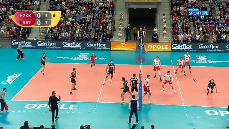 2017-12-12 ZAKSA Kędzierzyn-Koźle - Sarmayeh Bank 3:2. Skrót meczu